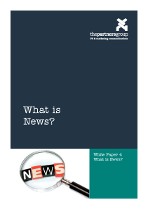 White Paper 4: What is news?