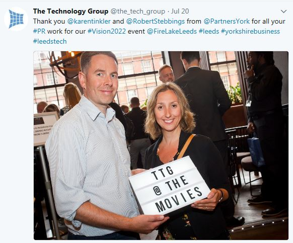 The Technology Group praises Partners Group