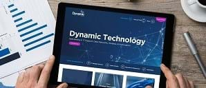 Dynamic Group website