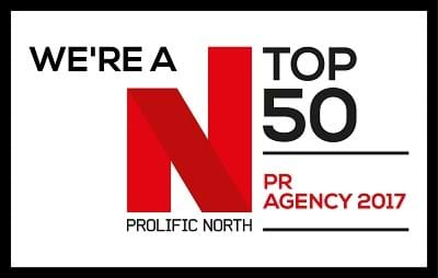 Prolific North Top 50 PR Agency 2017