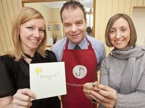 Hannah, Alan and Karen celebrate a trio of new client wins