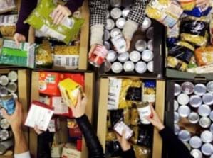 Charity donation provides essential food this Christmas
